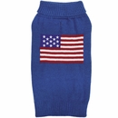 Zack & Zoey Elements American Flag Sweater - Large