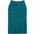 Zack & Zoey Elements Chunky Cable Sweater - Blue (XSmall)