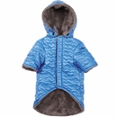 Zack & Zoey Elements Quilted Hearts Jacket - Blue (XSmall)