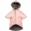 Zack & Zoey Elements Quilted Hearts Jacket - Pink (Large)