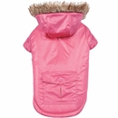 Zack & Zoey Elements Reversible Thermal Parka - Pink (Large)