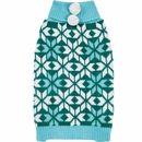 Zack & Zoey Elements Snowflake Sweater - Blue (Large)