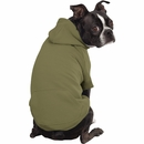 Zack & Zoey Forest Friends Reversible Hoodie - Green (XSmall)