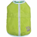 Zack & Zoey Hairy Yarn Thermal Nor'easter Coat - Green (Large)