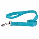 "Zack & Zoey Nylon Pet Lead - Bluebird (6'x1"")"
