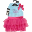 Zack & Zoey Sparkle Flamingo Dress