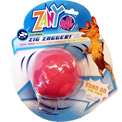 Zany Bunch Zany Ball - Electronic Dog Toy (Assorted Colors)