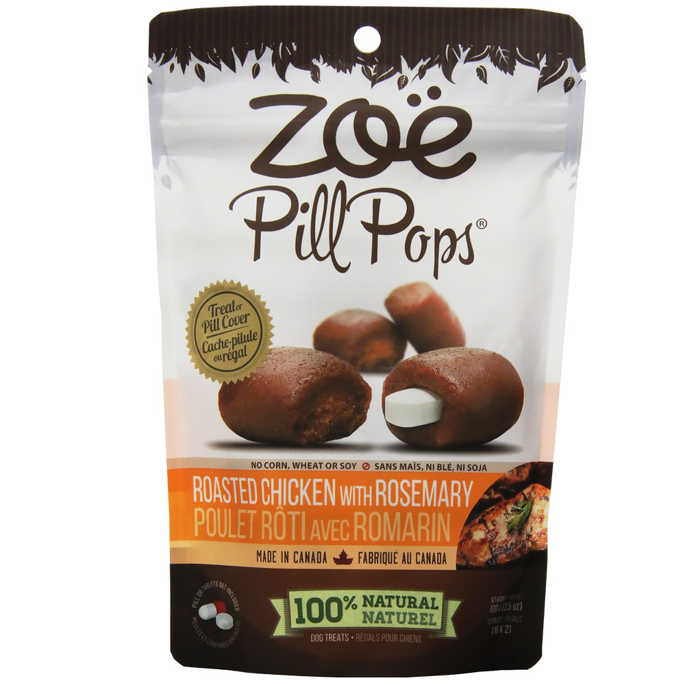 Zoe Pill Pops Roasted Chicken with Rosemary (3.5 oz) im test
