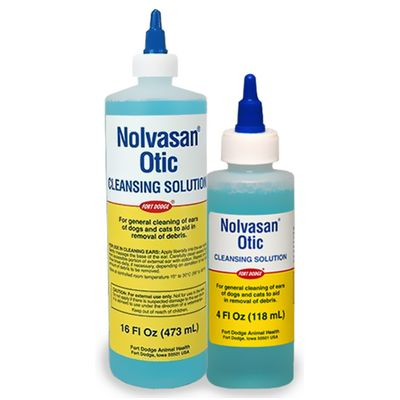 Zoetis Nolvasan Otic Cleansing Solution (1 Gallon)