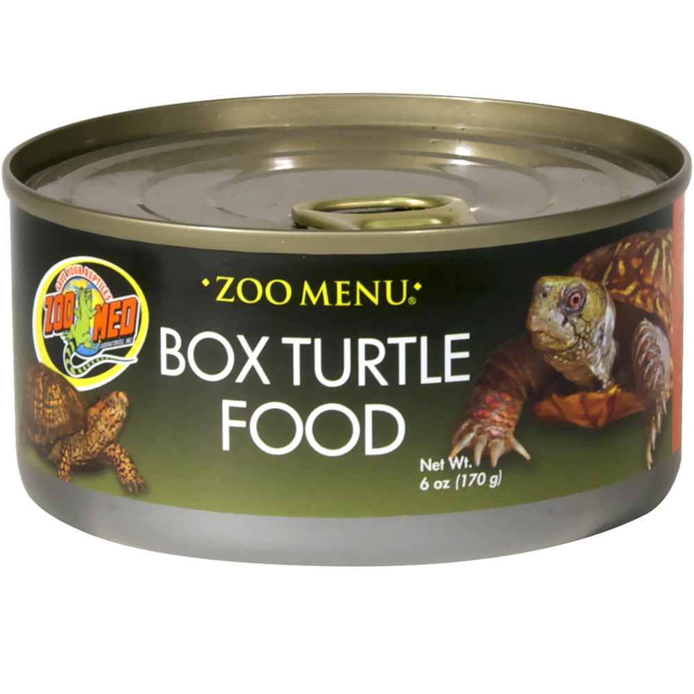 http://www.entirelypets.com - Zoo Med Box Turtle Food Canned Food (6 oz) 2.99 USD