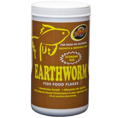 ZOOMED-EARTHWORM-FISH-FOOD-FLAKES-SINKING-STICKS