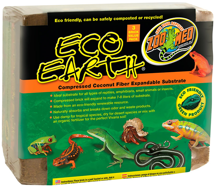 Zoo Med Eco Earth - 3 Pack - from EntirelyPets