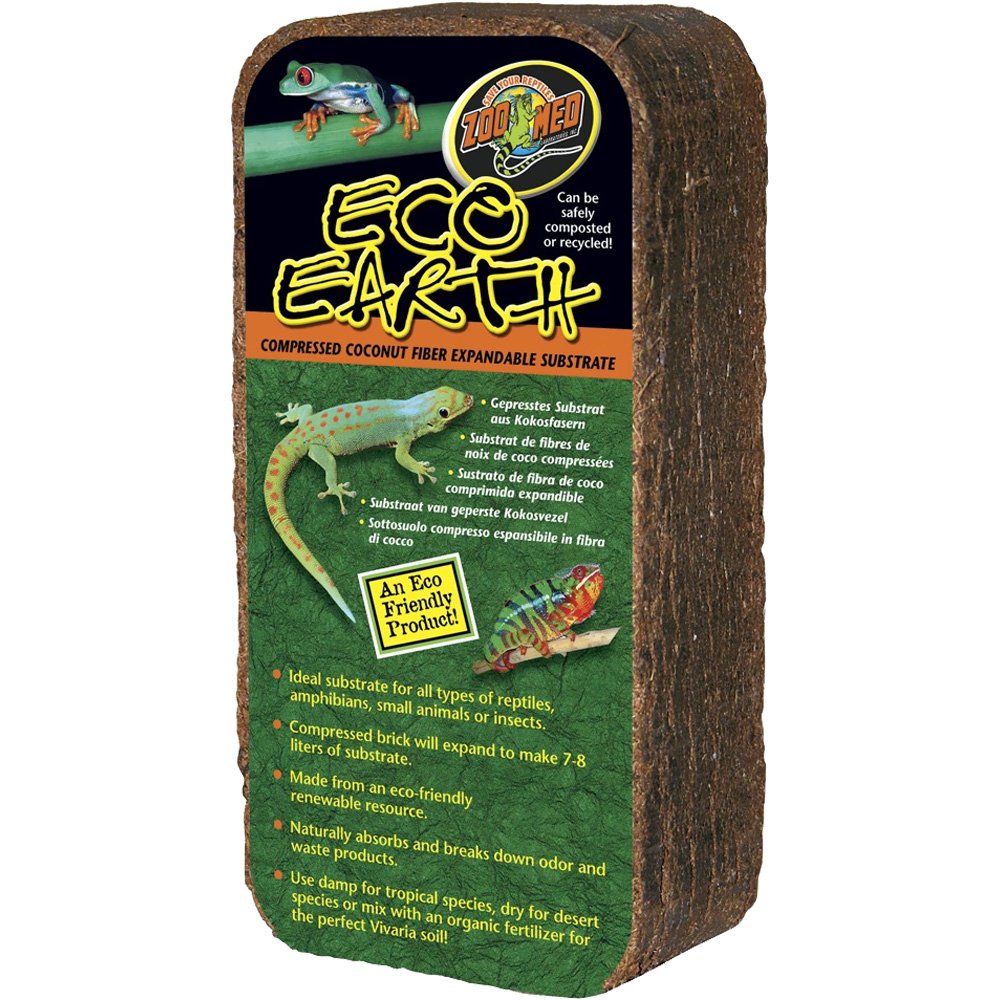 Zoo Med Eco Earth - Single Brick - from EntirelyPets