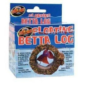 Zoo Med Floating Betta Log im test