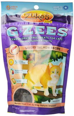 Zuke's G Zees Salmon Cat Treats (3 oz)