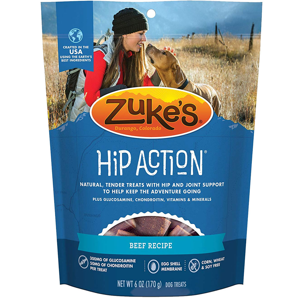 Zuke's Hip Action with Glucosamine and Chondroitin - BEEF (6 oz) im test