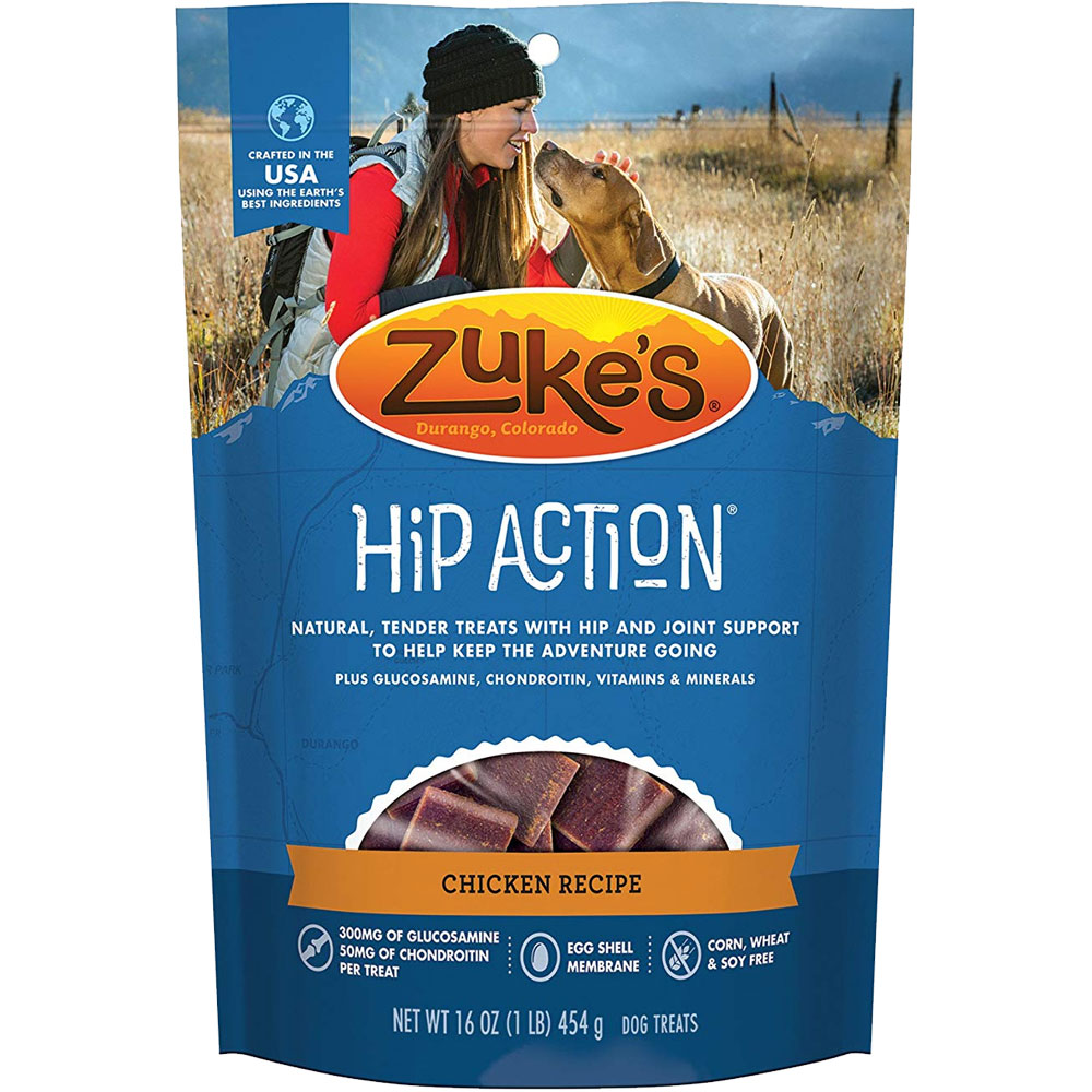 Zuke's Hip Action with Glucosamine and Chondroitin - CHICKEN (1 lb) im test