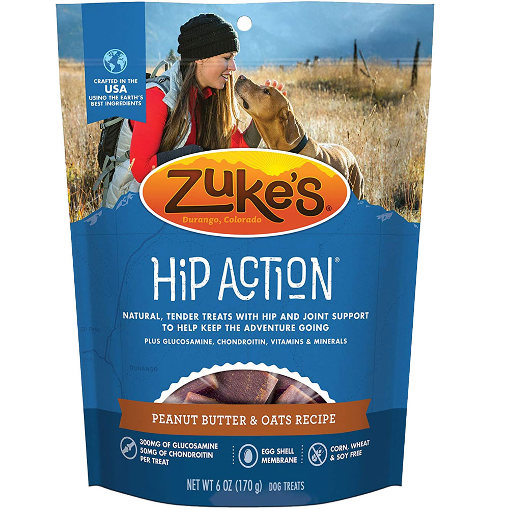 Zuke's Hip Action with Glucosamine and Chondroitin - PEANUT BUTTER (6 oz) im test