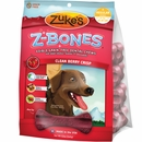 Zukes Z-Bones Edible Dental Chews Regular Clean Cherry Berry - 8 ct (12 oz)