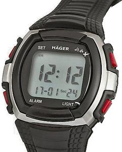 Hager Vibrating 8 Alarm Watch