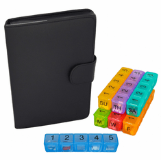 Large Pill Organizer<br>7 Day x 5 Compartments per Day