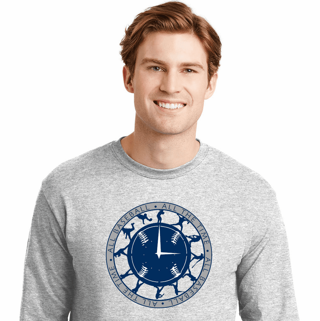 All Baseball All The Time T-Shirt<br>Choose Your Color<br>Youth Med to Adult 4X