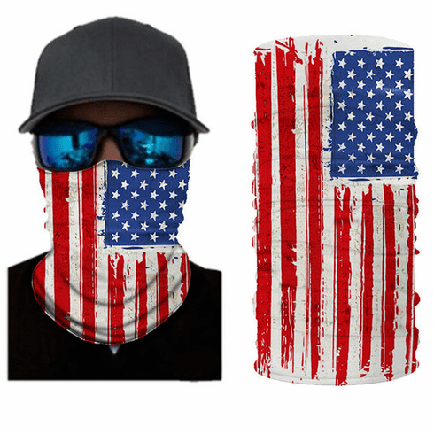 American Flag USA Gaiter<br>ONLY 5 LEFT!