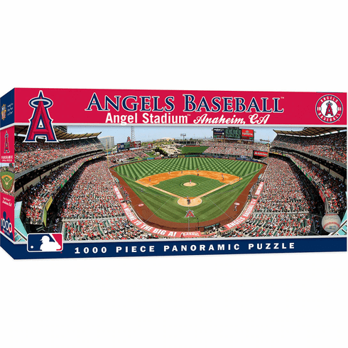 Los Angeles Angels 1000 Piece Panoramic Baseball Stadium Puzzle<br>LESS THAN 4 LEFT!