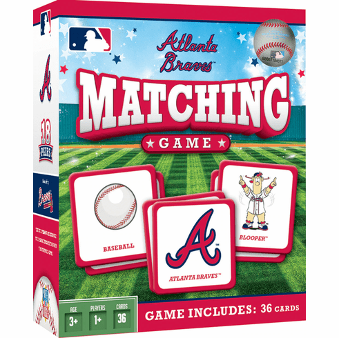 Atlanta Braves Baseball Matching Game<br>ONLY 3 LEFT!