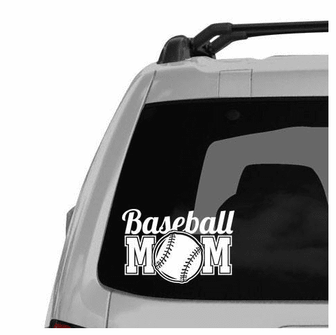 Baseball Mom Decal<br>ONLY 3 LEFT!