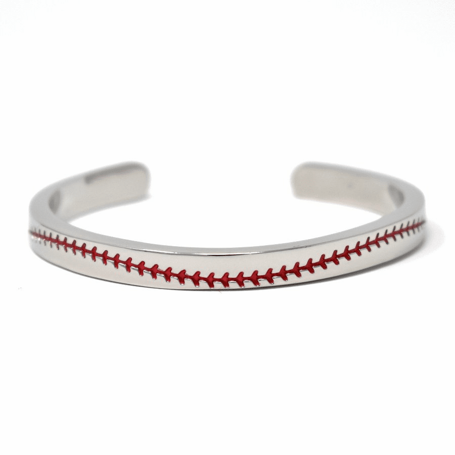 Baseball Seam Cuff Bracelet<br>ONLY 3 LEFT!