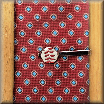 Baseball Seam Tie Clip<br>ONLY 6 LEFT!