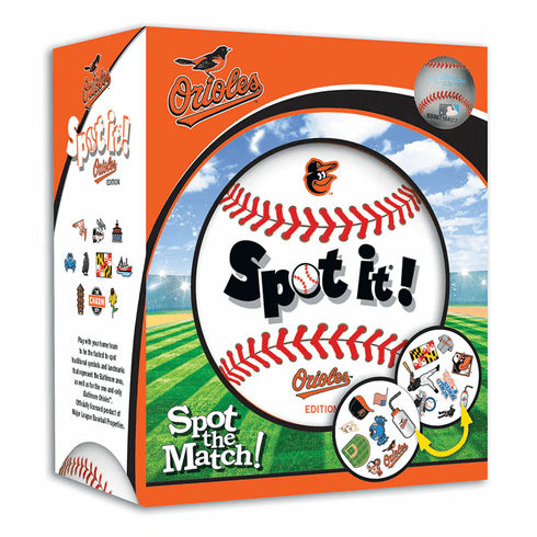 Baseball Spot it! Game Baltimore Orioles Edition<br>LESS THAN 4 LEFT!