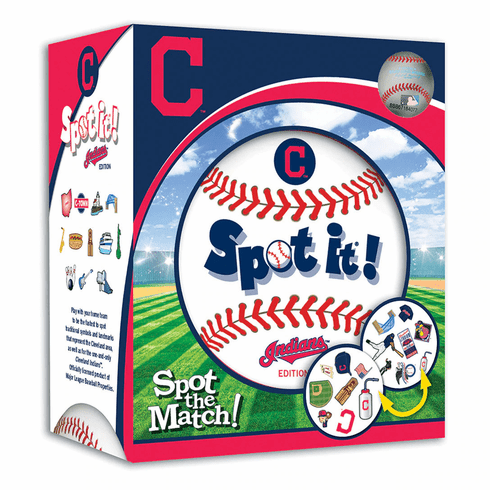 Baseball Spot it! Game Cleveland Indians Edition<br>LESS THAN 4 LEFT!