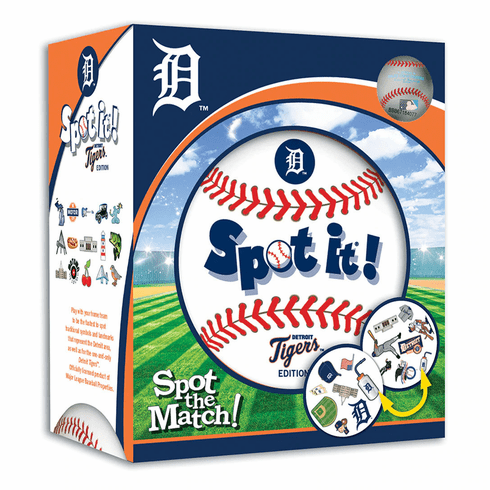 Baseball Spot it! Game Detroit Tigers Edition<br>LESS THAN 4 LEFT!