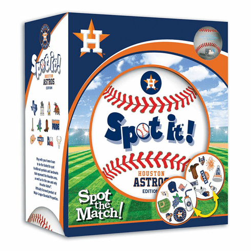 Baseball Spot it! Game Houston Astros Edition<br>ONLY 2 LEFT!
