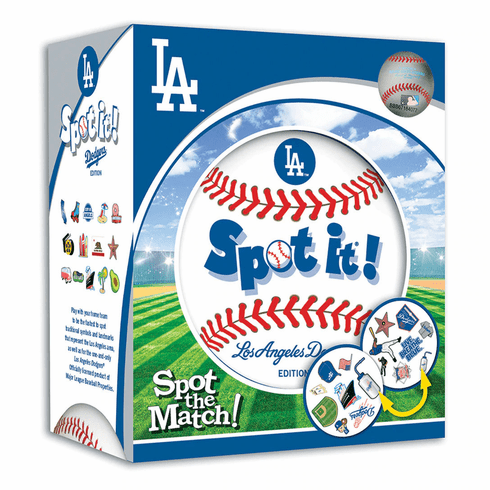 Baseball Spot it! Game Los Angeles Dodgers Edition<br>ONLY 6 LEFT!