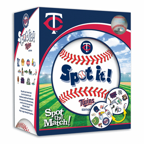 Baseball Spot it! Game Minnesota Twins Edition<br>ONLY 5 LEFT!