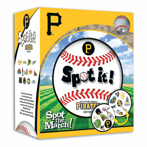 Baseball Spot it! Game Pittsburgh Pirates Edition<br>LESS THAN 4 LEFT!