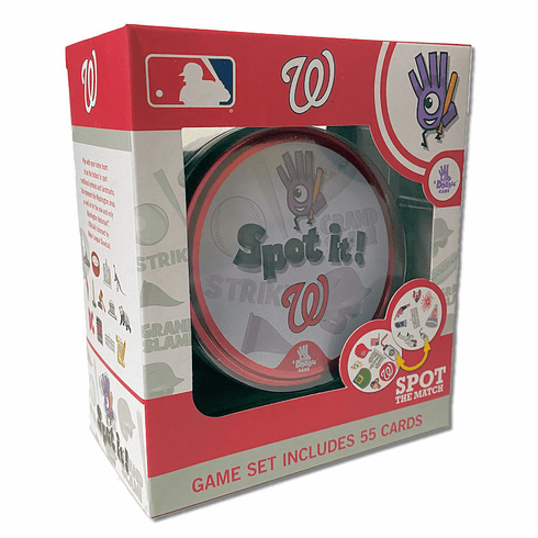 Baseball Spot it! Game Washington Nationals Edition<br>ONLY 6 LEFT!