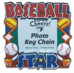 Baseball Star Photo Magnet<br>ONLY 1 LEFT!