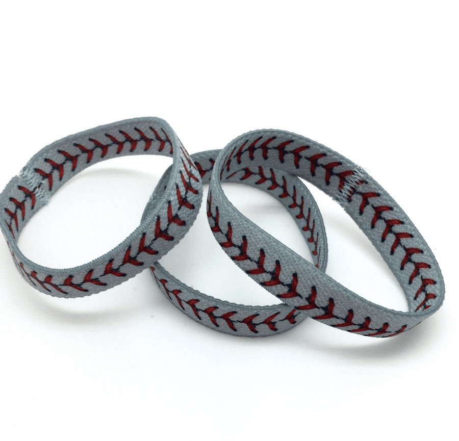 Baseball Stretch Bracelet