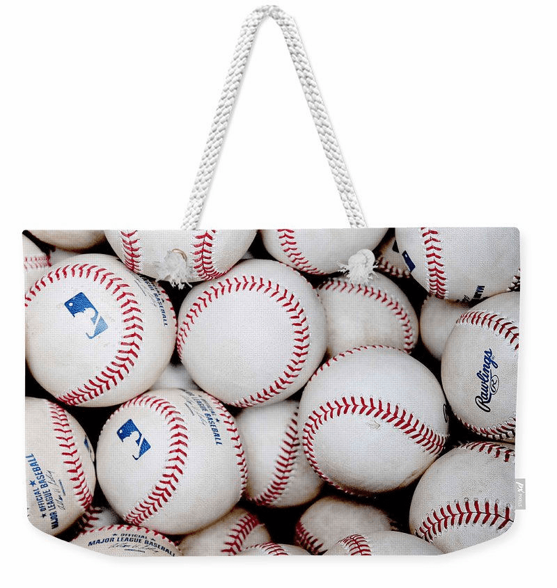 Baseball Weekender Tote Bag<br>6 DESIGNS!