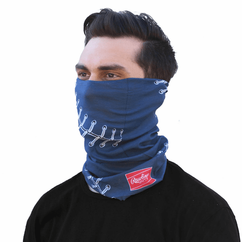 Blue Baseball Stitch Gaiter by Rawlings<br>ONLY 1 LEFT!