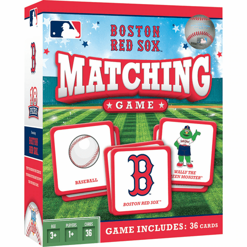 Boston Red Sox Baseball Matching Game<br>ONLY 6 LEFT!