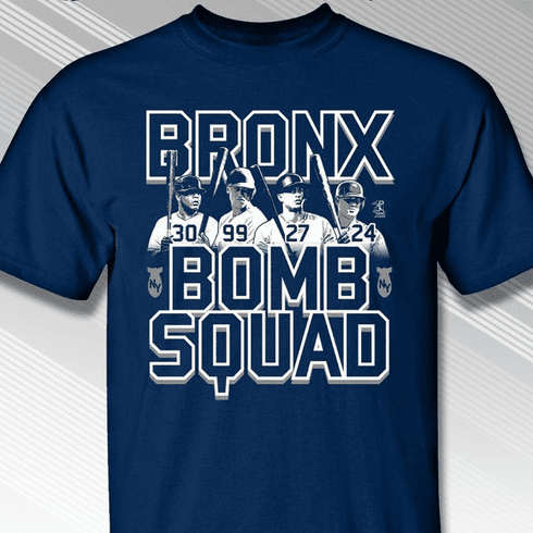 Bronx Bomb Squad T-Shirt<br>Short or Long Sleeve<br>Youth Med to Adult 4X
