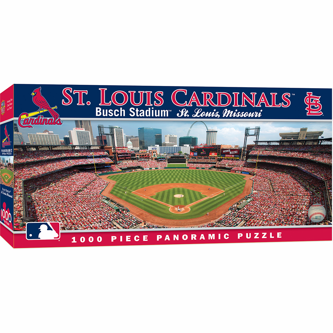Busch Stadium St. Louis Cardinals 1000pc Panoramic Puzzle<br>ONLY 5 LEFT!