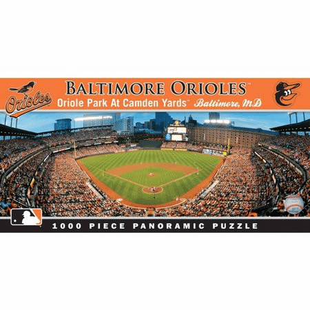 Camden Yards Baltimore Orioles 1000pc Panoramic Puzzle<br>LESS THAN 8 LEFT!