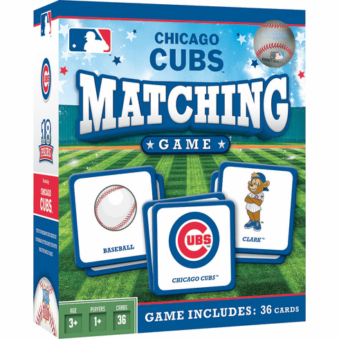 Chicago Cubs Baseball Matching Game<br>ONLY 6 LEFT!