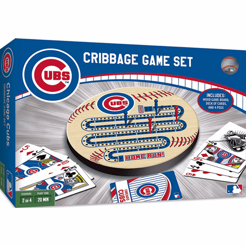 Chicago Cubs MLB Baseball Cribbage Game Set<br>LESS THAN 6 LEFT!
